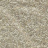 Miyuki Delica Seed Beads Size 11 Galvanised Silver 5 grams
